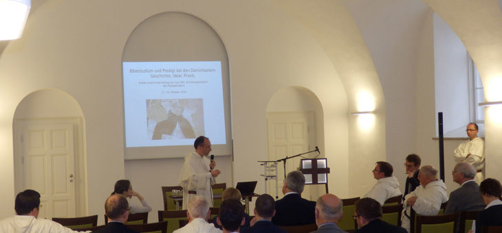 Conferenza storica internazionale sullo studio della Bibbia e la predicazione nell'Ordine dei Predicatori