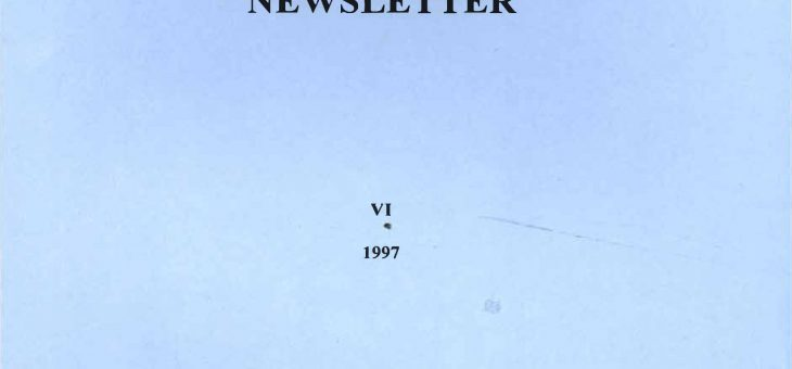 Dominican History Newsletter 6 (1997)