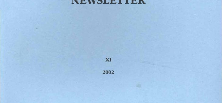 Dominican History Newsletter 11 (2002)