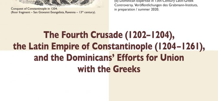Guest Lecture: The Dominicans' Efforts for Union with the Greeks